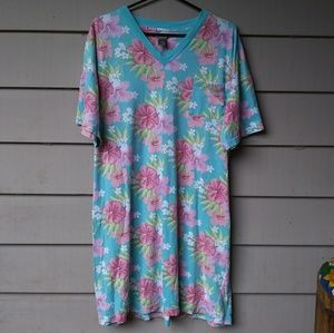 NORDSTROM Intimates Floral Kawaii Night Shirt